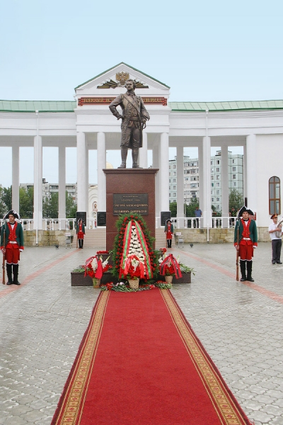 """Монумент """"Григорий Александрович Потёмкин-Таврический"""""""